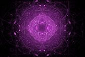 Abstract Purple Futuristic Background