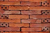 Red brick.