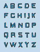 Alfabeto azul