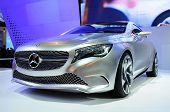 BANGKOK, THAILAND - Mar 28: The New Mercedes Benz Concept A Class Car Shown At The Bangkok Motor Sho