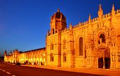 Jeronimos Monastery, Lisbon In Portugal