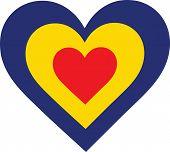Romania Heart