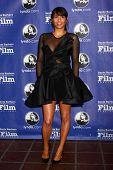 SANTA BARBARA - JAN 24:  Paula Patton arrives at the Santa Barbara International Film Festival