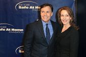 NEW YORK-JAN 24: Bob and Jill Costas attend the 10th Anniversary Joe Torre Safe At Home Foundation G