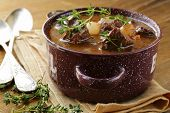 picture of boeuf  - Traditional french beef goulash  - JPG