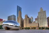 Cloud Gate in Millennium Park 1