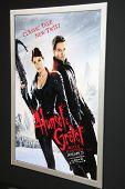 LOS ANGELES - JAN 24:  Hansel And Gretel: Witch Hunters Poster  at the 'Hansel And Gretel: Witch Hun