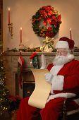 Santa Checking The List