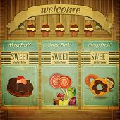 Sweet Menu For Confectionery