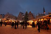 Christmas Market In Old Town