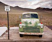 Route 66 LKW-Porträt