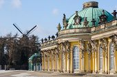 Royal Palace Sanssouci In Potsdam