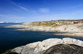 View Of Oqaatsut Settlement (rodebay) in Greenland
