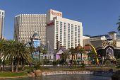 Harrahs Hotel, Daytime In Las Vegas, Nv On June 05, 2013