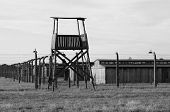 Sentry Box in Auschwitz-Birkenau