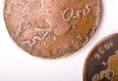 Two Old Russian Coins