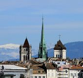St. Pierre Cathedral in Geneva, Switzerland