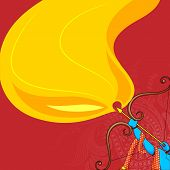 picture of navratri  - vector illustration of Rama killing Ravana in Happy Dussehra - JPG