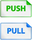 Постер, плакат: Push And Pull