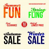 Sale Promo Elements