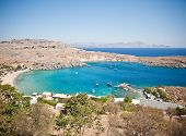 Greek islands - Rhodes, Lindos bay