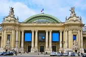 PARIS, FRANCE - MAY 17: The Grand Palais on May 17, 2013 in Paris, France. The Grand Palais shows ar