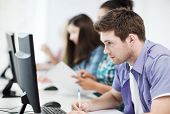 stock photo of informatics  - education concept  - JPG