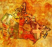 Nova Scotia On Map Of Canada