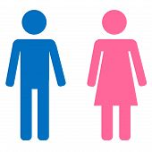 Male and female sign