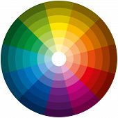 Color Circle Light Dark