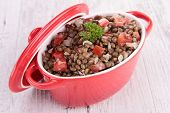lentils stew or salad