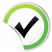Vector Check Paper Icon