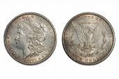American Dollar Coin Old 1883