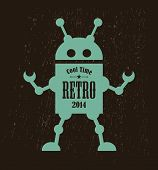 Vintage robot.