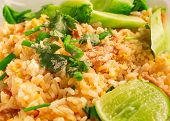 Close-up of delicious fried rice
