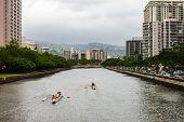 Ala Wai Canal, Oahu, Hawaii