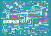 image of radiation therapy  - Chemotherapy as a Medical Concept with Side Effects - JPG