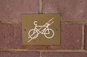 Bicycles prohibited