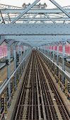 Williamsburg Bridge Subway Tracks