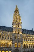Town Hall In Brussels, Belgium.
