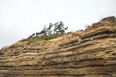 Depositional Structures In Suwolbong Volcaniclastic Deposits In Jeju Island