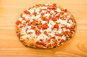 Whole Tomato And Cheese Pizza