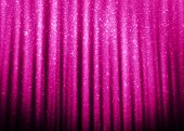 Pink sparkle glitter curtains background.