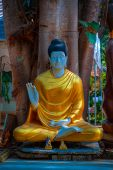 stock photo of lingam  - The North of Thailands style of temple