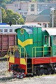 Vintage locomotive