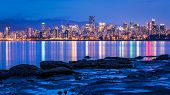pic of jericho  - View of Vancouver city - JPG