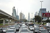 Rush Hour In Dubai