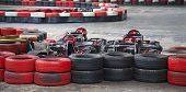 pic of karts  - Indoor karting race  - JPG