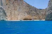 Bay shipwreck, Zante