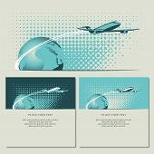 Plane and planet